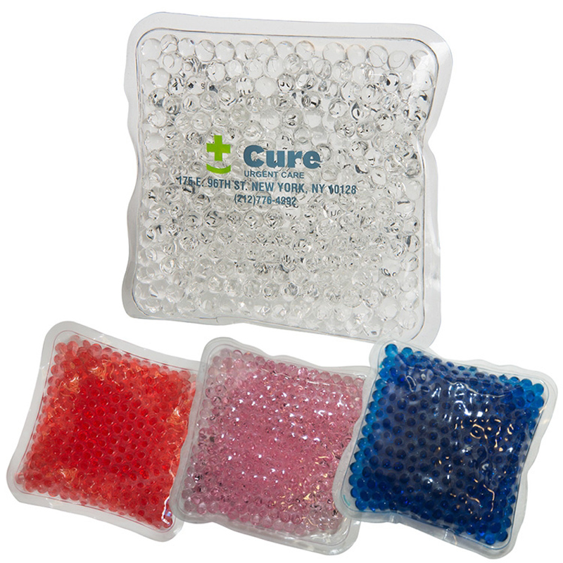 Gel Beads Hot/Cold Pack Square