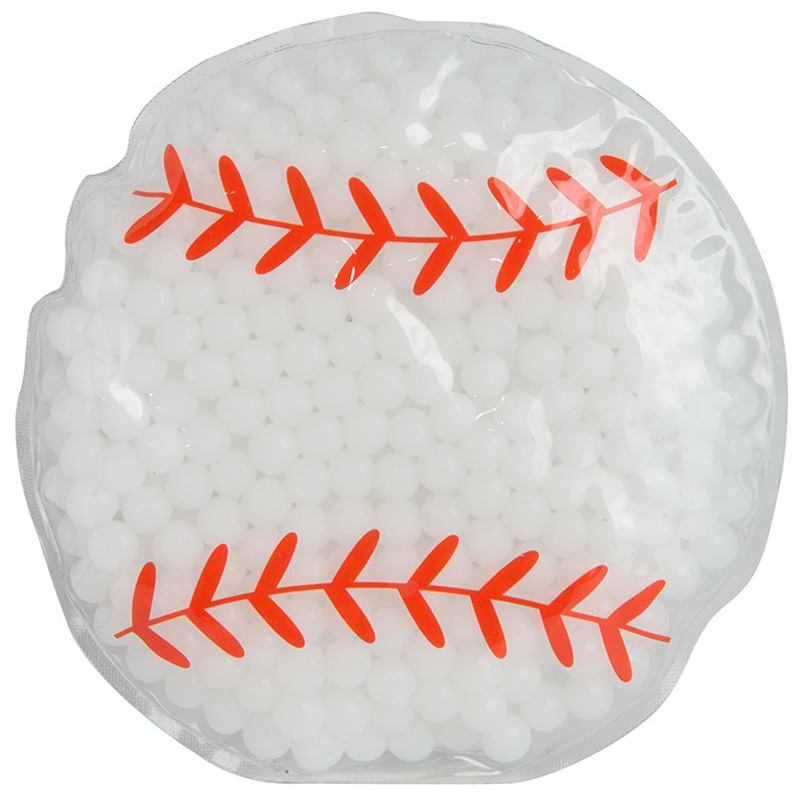 Gel Beads Hot/Cold Pack Baseball