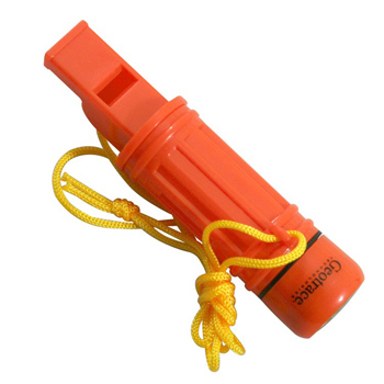 Orange Survival Tube