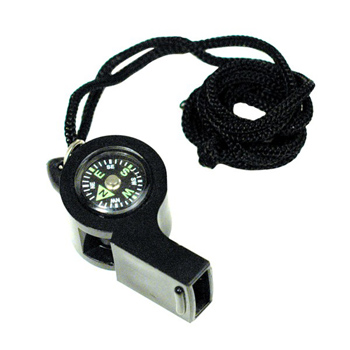 Whistle Compass with Necklace