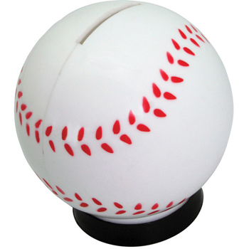 Baseball Coin Bank