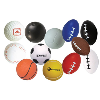 Sports Balls Squeezies