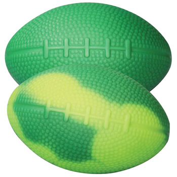 "Green/Yellow ""Mood"" Football"