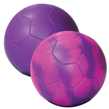 "Purple/Pink ""Mood"" Soccer Ball"