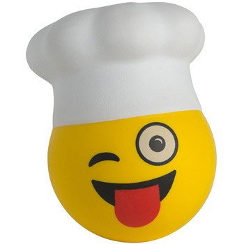 Chef Emoji Hat Stress Reliever