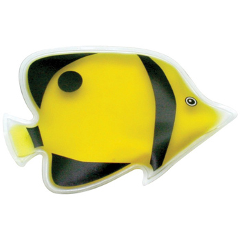 Tropical Yellow Angel Fish Chill Patch