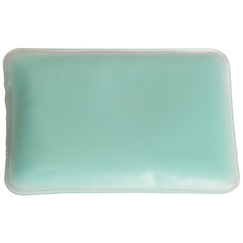 Opaque Blue Rectangle Chill Patch