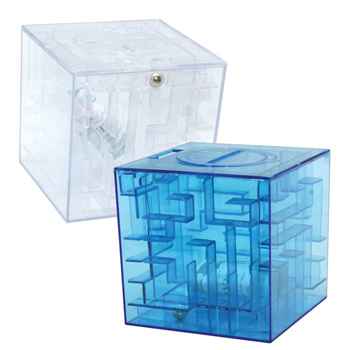 Money Maze Cube Bank