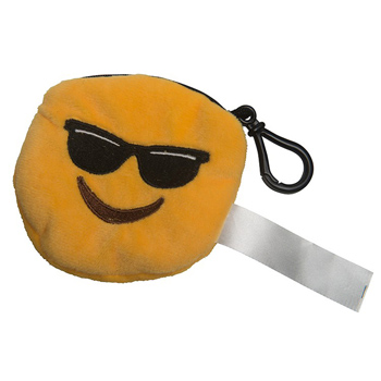 Mr Cool Emoji Plush Pouch